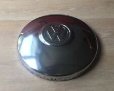 1X Volkswagen VW Camper Beetle Steel Wheel Centre Hub Cap métal chromé