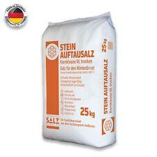 Stein Auftausalz 25kg Streumittel Streusalz Schnee Winter Eis Frost Premium