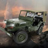 JJRC Q65 2.4G 1/10 Jedi RC Car Military Truck Rock Crawler 4WD Off-Road RC