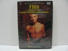 FLEA (FROM RED HOT CHILI PEPPERS)  INSTRUCTIONAL DVD FOR BASS!