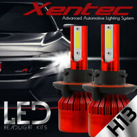 XENTEC LED HID Headlight kit H13 9008 White for 2005-2016 Ford F-350 Super Duty