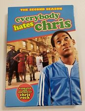 Everybody Hates Chris The Second Season 4-disc DVD 2007 ☆Free ship in USA☆