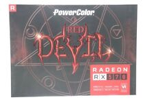POWERCOLOR RED DEVIL 4GBD5-3DH/OC RADEON RX570 GRAPHICS CARD