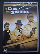 DVD Le Clan des Siciliens Jean Gabin /Lino venture/ Alain Delon DVD cellophané