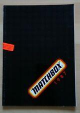 Matchbox Katalog 1987 Modellbausätze, Militär, Panzer Flugzeuge, 129 Seiten