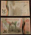 Mexico - 20 Pesos 2021 UNC comm. Polymer Lemberg-Zp