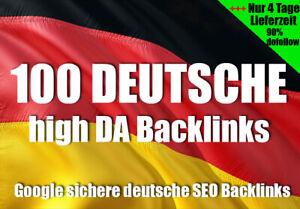100 Deutsche Backlinks High PR SEO Linkaufbau Manuell Suchmaschinenoptimierung 3