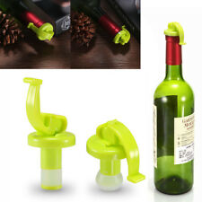 2X Vacuum Sealed Wine Champagne Bottle Stopper Cork Preserver Air Sealer Plug