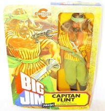 "Mattel Congost BIG JIM SANDOKAN TV Series PIRATE CAPTAIN FLINT 10"" FIGURE MIB`78"