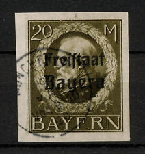(Yyau 691) Bayern 1920 Used Mich 170B Scott 230 Bavaria Germany