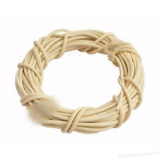 Real Leather Round Rope String Cord For Necklace Jewelry Finding DIY Lots 1PC/5M