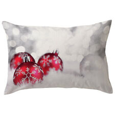 Christmas Car Pillow Case Bed Sofa Waist Throw Cushion Cover Home Decor New