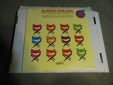 With The Help Of My Friends by Claude Bolling LP STILL SEALED! Thelonius Monk
