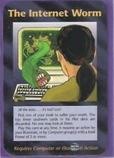The Internet Worm - Illuminati New World Order INWO CCG Card Game NWO 1995