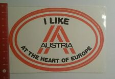 Aufkleber/Sticker: I like Austria at the heart of Europe (141016152)