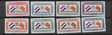 1941 MH Curaçao NVPH  LP18-25 airmail