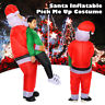 Unisex Christmas Adult Gonflable Fancy Dress Costume Party Santa Snowman Robe