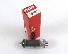 RCA / General Electric 6197 Vintage Electron Tube w/ Original Box