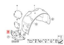 Genuine BMW E85 E86 Coupe Roadster Undercar Shield OEM 51717168996