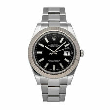 PRE-SALE Rolex Datejust II Auto 41 Steel White Gold Watch 116334 COMING SOON