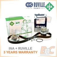 INA RUVILLE HEAVY DUTY TIMING BELT CAMBELT SET WATER PUMP VW PASSAT B5 BORA