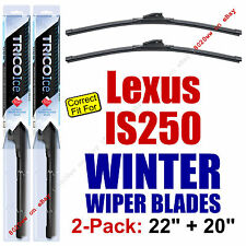 WINTER Wiper Blades 2pk Premium - fit 2006-2013 Lexus IS250 IS 250 - 35220/200