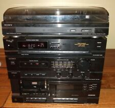 New listing Sony Lbt-D105 Stereo System With Record Player untested Htf awesome system Read