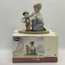 💙 'NAO BY LLADRO' DISNEY COLLECTION 'PINOCCHIO'S FIRST STEPS' BOXED MINT COND!