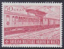 SMOM 1976 - ASSISTENZA SANITARIA DELL'ORDINE - TRENO OSPEDALE - G. 50 - MNH