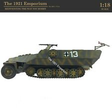 ✙ 1:18 21st Century Toys Ultimate Soldier WWII German Army SdKfz 251 Halftrack