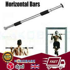 Exercise Chin Pull Up Door Gym Bar Training Body Fitness Strength Bars 100cm UK