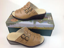 $123.00 SAS SAN ANTONIO SHOEMAKERS TANGO SLIDE SANDAL WHEAT SIZE 10 W