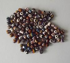 1000 pcs Peruvian Mini Ceramic Beads. Inka Design. Mixed Lot