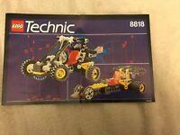 LEGO Instruction MANUAL ONLY No Bricks Technic 8818
