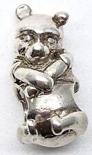 Chamilia Disney WINNIE THE POOH BODY Sterling Silver 925 Charm Bead - RETIRED!
