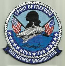 USS GEORGE WASHINGTON CVN 73 U.S.NAVY PATCH AIRCRAFTCARRIER SAILOR AIRPLANES USA