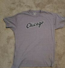 Vintage MLB Chicago White Sox Script Alternate Gray Shirt  XXL