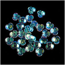 10pcs DIY Handmade Jewelry AB Colored Fish tail Shape Glaze Glass Loose Beads