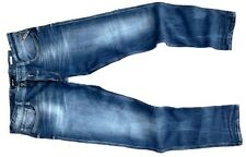 Replay Jeans ANBASS W31/L34 12,5 oz bright redcast stretch denim Herren blau
