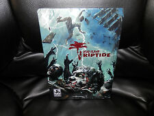 DEAD ISLAND RIPTIDE STEELBOOK CASE ONLY XBOX 360 PS3