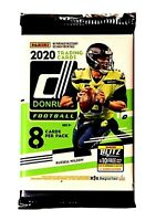 2020 Panini Donruss NFL FOOTBALL Factory Sealed (1) Pack - 8 Cards BURROW RC?