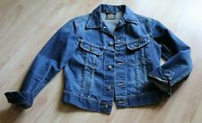 LEE Slim Jacket Gr M Jeansjacke dunkelblau Denim Denver Trucker Vintage Retro