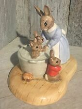 "Bunnykins ""Limited Edition"" by Royal Doulton ""Bath Time"""