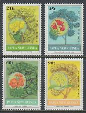Papua-Neuguinea 1992 ** Mi.668/71 Pflanzen Plants Bäume Trees [st1544]