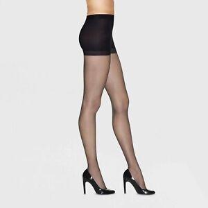 Women's Premium Perfect Nudes Tummy Control Run Resistant Pantyhose Hanes  M & L