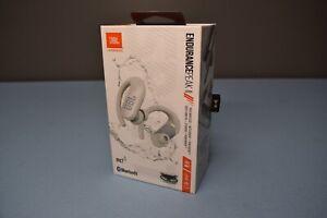 JBL Endurance PEAK II Waterproof True Wireless In-Ear Sport Headphones WHITE  3B