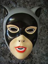 CATWOMAN GIRLS BATMAN DC COMICS DRESS-UP MASK PVC CHILD
