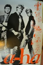 a-ha Poster, Original