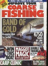 IMPROVE YOUR COARSE FISHING MAGAZINE - August 1999