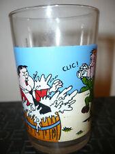 Verre à moutarde Laurel et Hardy N°3 - vintage glass